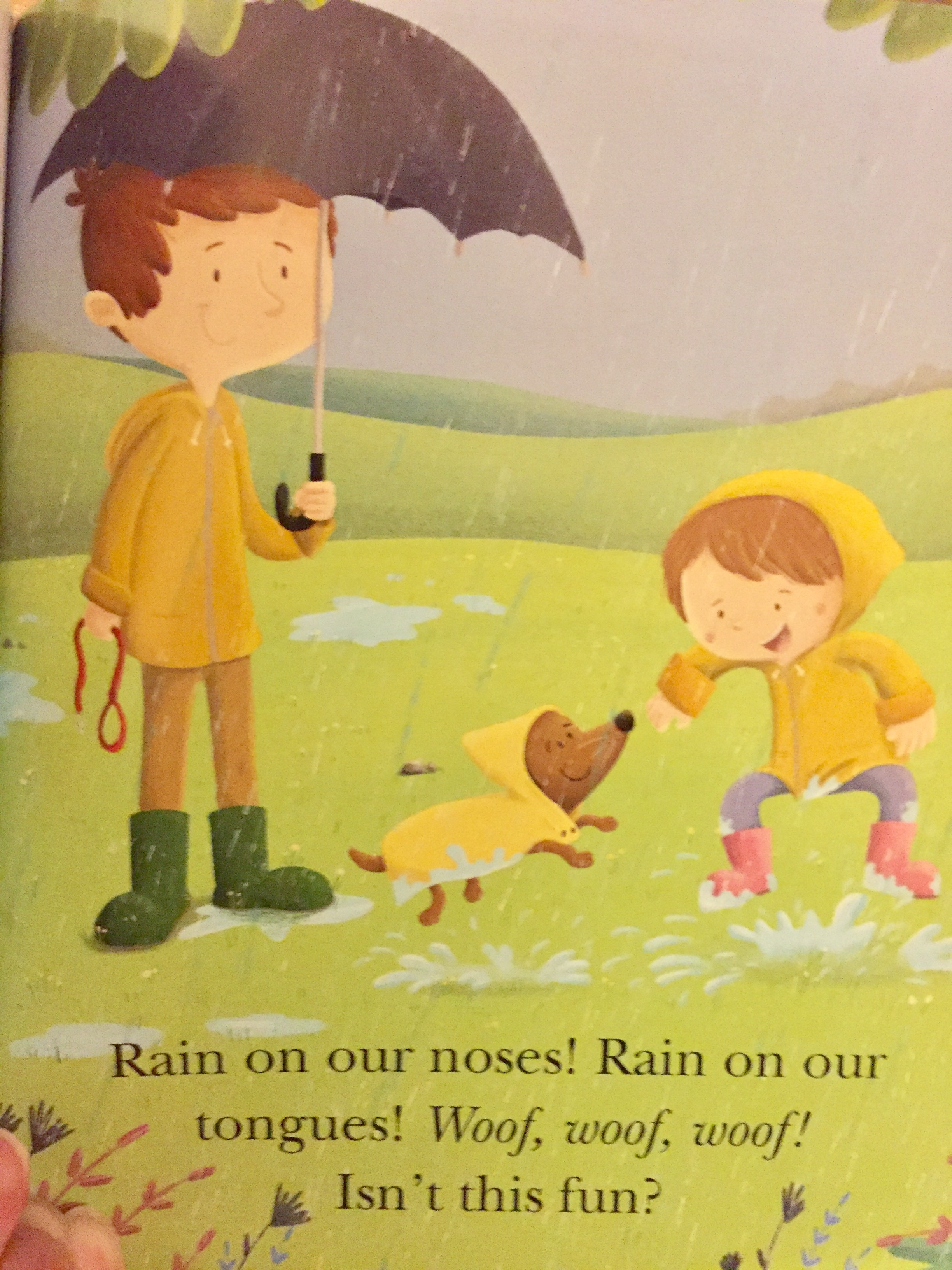Yay, Dogs! Yay, Rain! Yay, Babybug! \u2013 Kimberly Long Cockroft